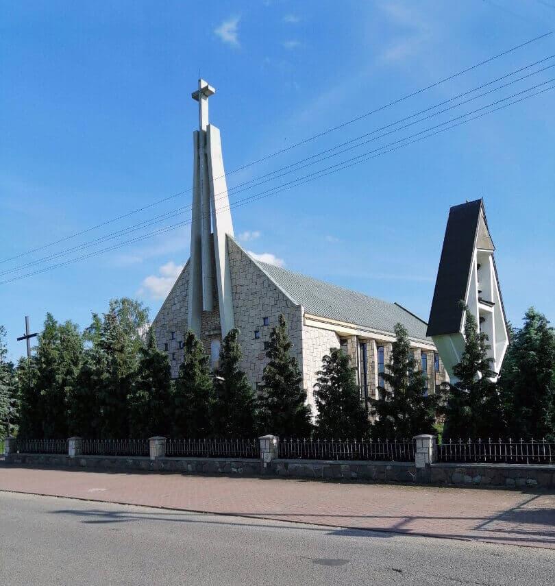 Kościół Bierwce Zewnątrz