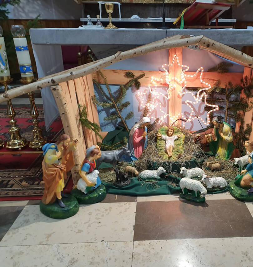 Kościół Bierwce na Święta